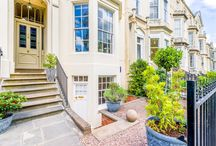 22 Garden Flat / Enter a pretty garden, where this delightful serviced apartment is a hidden. Follow stairs down to find a stylish and cosy nest, perfect for a long term stay in Cheltenham. Enjoy the views of your private, tree lined park which is for residential use only.