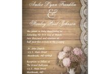 Pretty Wedding and Baby Invitations