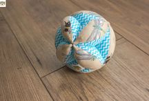 Piłki takane - zabawka Montessori