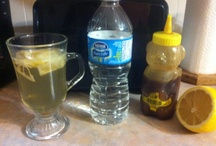 Remedies for sore throat.cough.ect