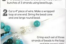 bead diy / by Cheryl Parrott Jewelry