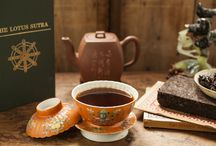 Lotus Brick Pu-erh Tea / A very mysterious and alluring companion that you can't wait to get to know.