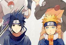 Naruto uzumaki Uciha Sasauke