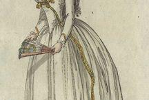 Riviste moda XVIII secolo