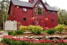 Gorgeous homes / Exterior Design, Architecture, and Little Getaways. / by Kara Keserauskis