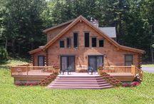 Log Home Decks / Decks