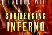 Brandon Witt, Submerging Inferno (Men of Myth #1) / Gay NA/Adult - Contemporary Fantasy/Paranormal, Romance.