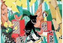 Meelie Yo Illustrations / Illustrations by Meelie Yo