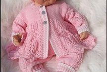 Dolls Knitting/Sewing Patterns