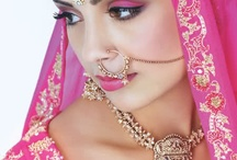 Indian Bridal Makeup and Jewelry / Indian bridal makeup and jewelry - shared with you by a professional henna artist.