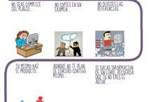 Infografías Antiplagio 2015 / Actividad en clase para poner en práctica los conceptos adquiridos
