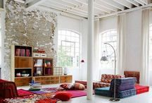 Loft ideas / We need a better way to use our spacious livingroom / by Esther de Boer