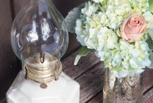 Brittney & DJ's Wedding / My rustic/vintage inspired winter wedding <3