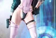 Anime Character - Motoko Kusanagi (Ghost in The Shell)