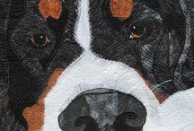 pet portrait quilts