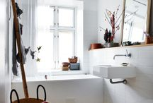 Interieur |  Badezimmer / Ein Bad praktisch und trotzdem gemütlich einzurichten ist oft eine Herausforderung. Doch es gibt unzählige Inspirationen, die ich hier sammle und mit euch teile.