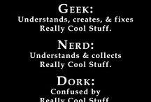 GEEK  / We're unapologetically geeky.