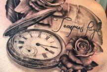 tetování hodiny