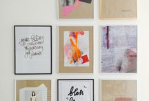 półka studio / My work