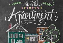Home Sweet Apartment - Print