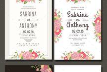 Wedding Invitations / flowers invitation