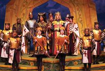 Medieval clothing / Ideas for Princess Ida production