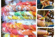 Spinning, Weaving & Knitting