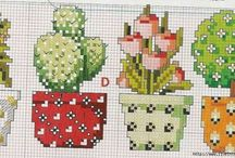 Crossstitch Cactus