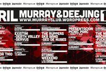 Programación / Programación de la discoteca Murrayclub y del pub Deejing Club en Valencia: sesiones de Djs, conciertos, fiestas especiales...