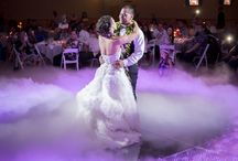 Dancing on a Cloud - Berry Acres / Dance for the first time as husband and wife on a bed of clouds! |barn wedding | country wedding venue | outdoor wedding | barn venue | Missouri wedding | Kansas City wedding | indoor reception | fog | dance floor fog | first dance fog | first dance cloud | dancing | glowing cloud | wedding fog |
