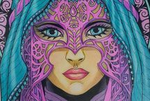 colored coloringpages