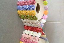 porta papel higiênico artesanal