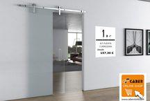 Herrajes para cristal / Herrajes para cristal disponibles en la tienda online caberstore.com