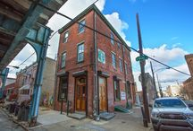1624 N Front St, South Kensington / What an incredible opportunity at a perfect time to own a bar/tavern being sold with its liquor license. This extra tall, three-story corner property that currently houses Shenanigans II, a busy sports bar, has had a longstanding history in the community. This building recently received a major overhaul from its previous life as a Masonic Lodge, and is largely constructed using recycled and repurposed materials.  Commerical Property Listing Price: $729,000