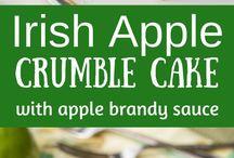 iris apple crumble pie