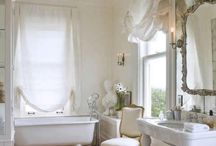 Bath rooms can be beautiful / by Charlene Robinson