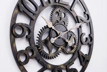 Wall clocks and decorating ideas