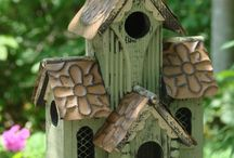 Bird Houses, Baths and Feeders / Homes for our feathered friends. May be phony. / by Anna Kimm-Wilson
