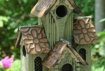 cuore in bird house / casette per amici