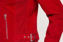 Czerwona kurtka C&A / moda