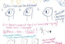 Apprentissages pour les dessins (personnages de manga + poneys)