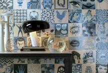 Déco bleu / Déco bleu marine, indigo, bleu ciel, turquoise, bleu paon, bleu canard. Idée pour le salon, la chambre, la salle à manger, la salle de bain, la cuisine, l'entrée ou le bureau