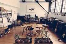 Recording Studio / Ispirazioni di ambienti atti alla registrazione musicale