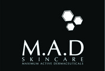 M.A.D Skincare / M.A.D Skincare has been created to deliver the most advanced skincare treatments available today no matter what the concern. Each of the 5 skin concern lines has a unique, custom set of actives making them super effective in the fight against age, hyper-pigmentation, sensitivity and reness and enviromental protection.