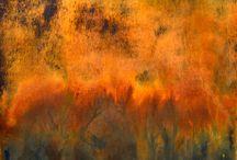 Rust paintings