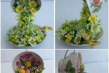 şelale çiçek süsleme
