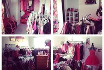 My Barbie Closet <3 / These are pics of my wardrobe and different set ups I have had in my Closet rooms <3