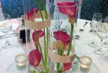 Table Centrepiece Ideas / All centrepieces for weddings from Flowers & Sparkle Sevenoaks