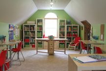 Inspiring Spaces to Learn / Get inspired by strategically planned spaces to foster learning and growth in young children. #ece #readingspace