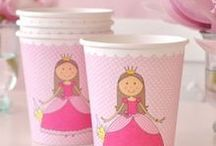 Princess party ideas / Princess themed birthday party ideas and resources. Find our favourite party supplies from vendors in Australia. Heaps of DIY tutorials and ideas for princess decorations, food, games and other cool party stuff.